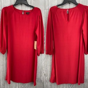 New Halogen Red Dress- Christmas Approved!
